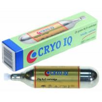 Cartridge 25 gram voor Cryo-stift met klep/valve