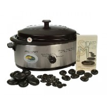USA Hot Stone Set Basis - Kleine Heater + 50 stenen