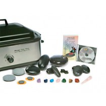 USA Hot Stone Set Profi - Grote Heater + 67 stenen